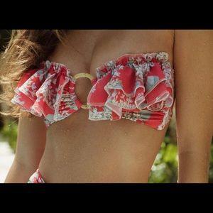 BRAND NEW vintage floral Salinas bikini top